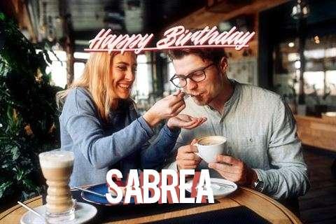 Happy Birthday Sabrea Cake Image