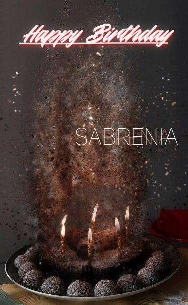Happy Birthday Cake for Sabrenia