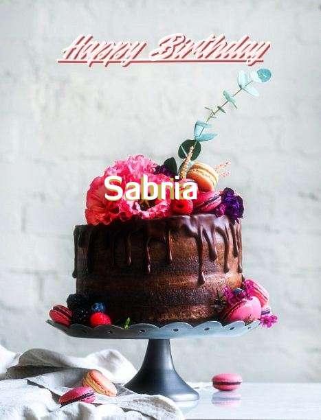 Happy Birthday Sabria