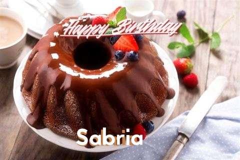 Happy Birthday Sabria Cake Image
