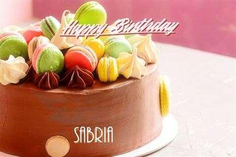 Happy Birthday Cake for Sabria