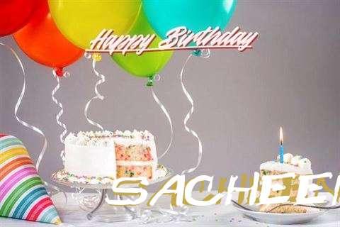 Happy Birthday Cake for Sacheen