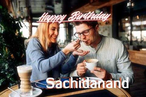Happy Birthday Sachidanand Cake Image