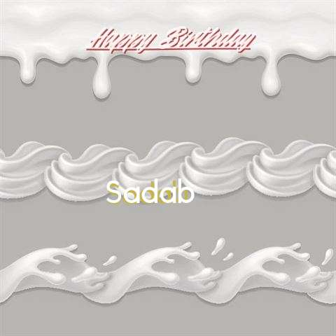Birthday Images for Sadab