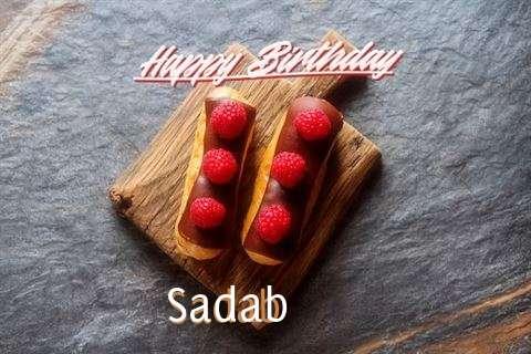 Happy Birthday to You Sadab