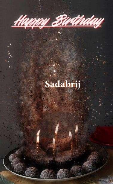 Happy Birthday Cake for Sadabrij