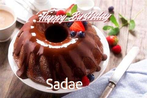 Happy Birthday Sadae Cake Image