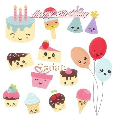 Happy Birthday Wishes for Sadae