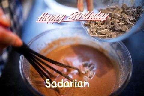 Happy Birthday Sadarian Cake Image