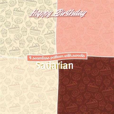 Birthday Images for Sadarian