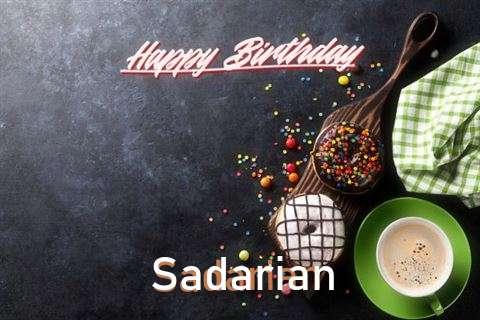 Happy Birthday Wishes for Sadarian