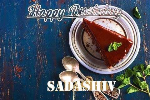 Happy Birthday Sadashiv Cake Image