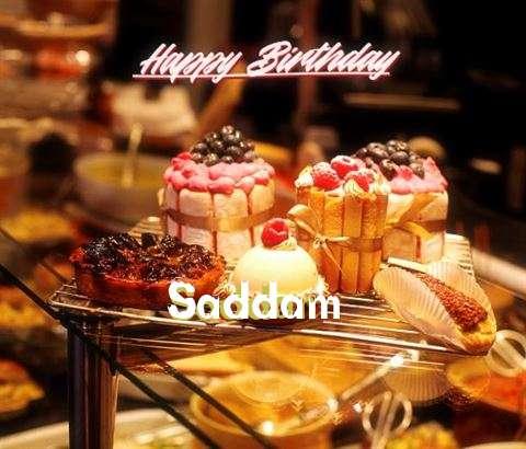 Saddam Birthday Celebration