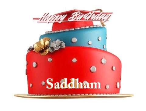 Birthday Images for Saddham