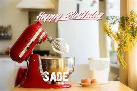Happy Birthday to You Sade