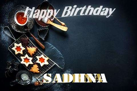 Happy Birthday Sadhna Cake Image