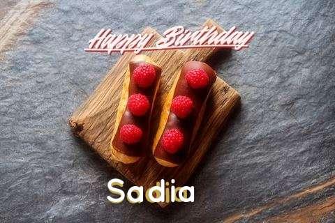 Happy Birthday to You Sadia