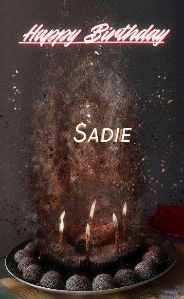 Happy Birthday Cake for Sadie