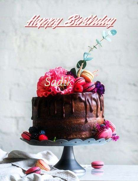 Happy Birthday Sadik