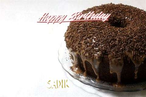 Birthday Wishes with Images of Sadik