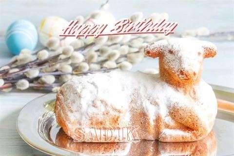 Happy Birthday to You Sadik