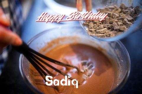 Happy Birthday Sadiq Cake Image