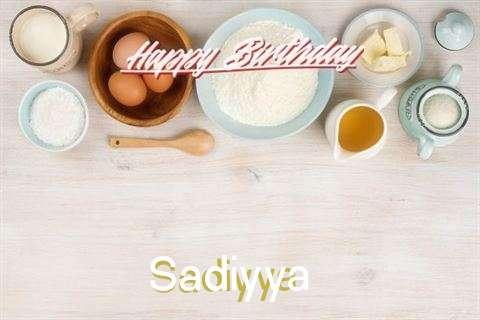 Birthday Wishes with Images of Sadiyya