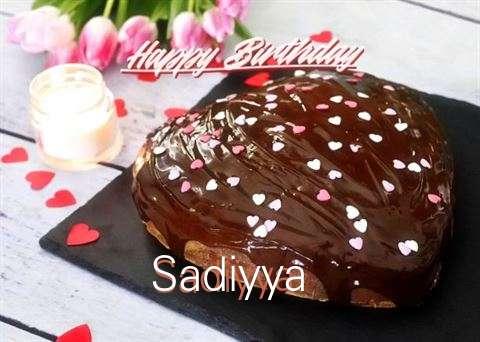 Happy Birthday Cake for Sadiyya