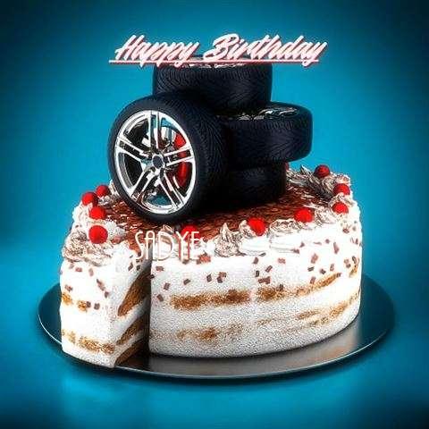 Birthday Wishes with Images of Sadye