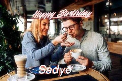 Happy Birthday Sadye Cake Image