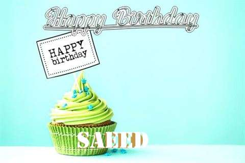 Happy Birthday to You Saeed