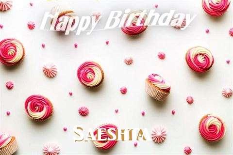 Birthday Images for Saeshta