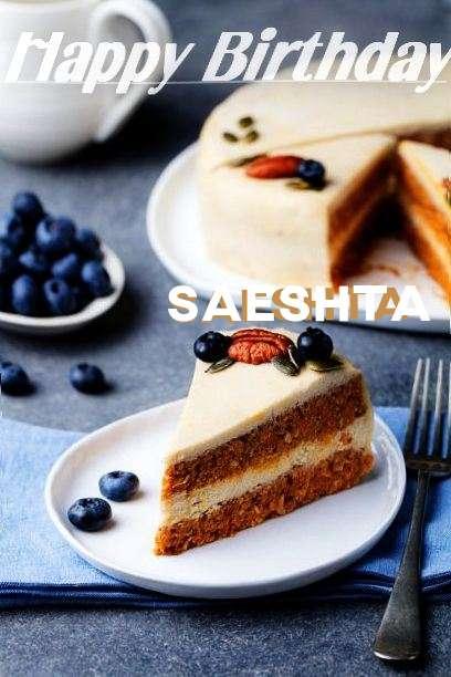 Happy Birthday Wishes for Saeshta