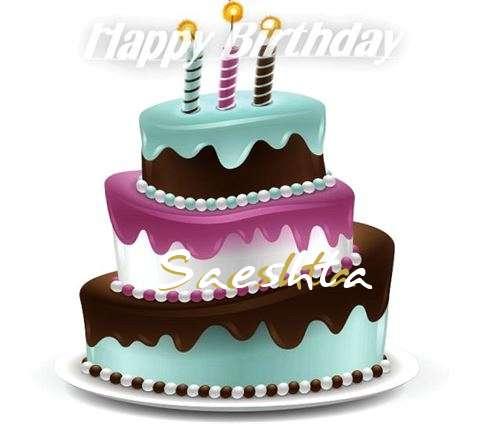 Happy Birthday to You Saeshta
