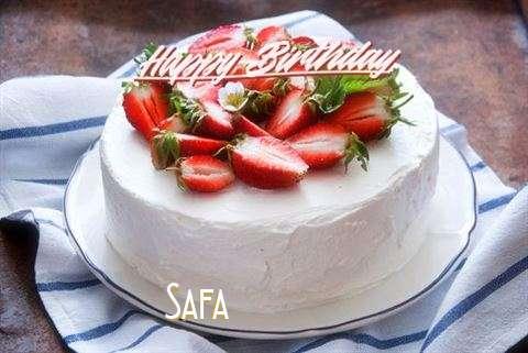 Happy Birthday Cake for Safa