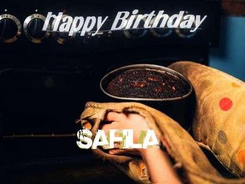 Happy Birthday Cake for Safila