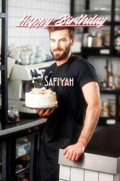 Happy Birthday Safiyah Cake Image