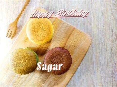 Happy Birthday Sagar Cake Image