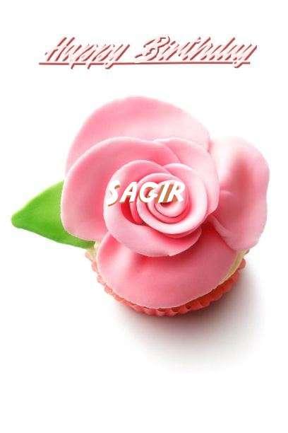 Happy Birthday Sagir Cake Image