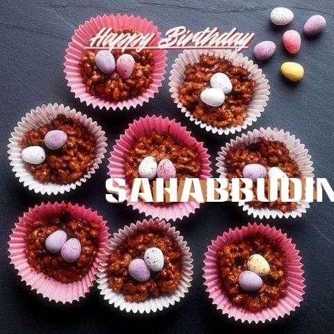 Happy Birthday Sahabbudin Cake Image
