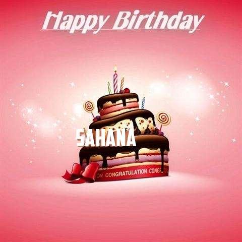 Birthday Images for Sahana