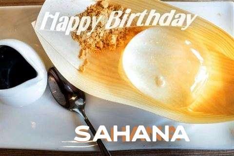 Sahana Cakes