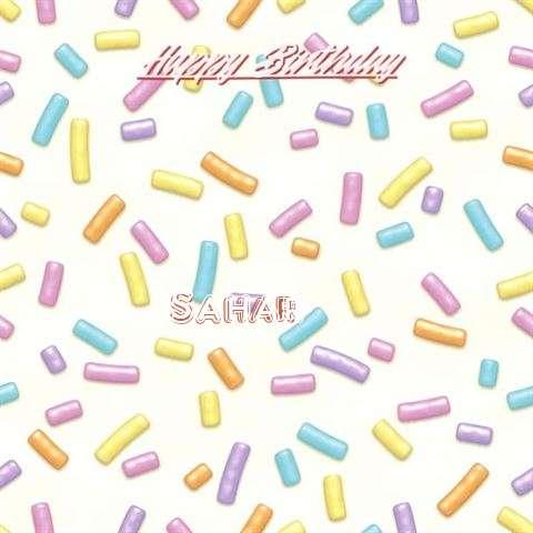 Happy Birthday Sahar
