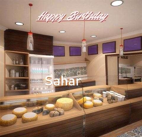 Birthday Images for Sahar
