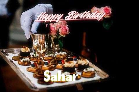 Happy Birthday to You Sahar