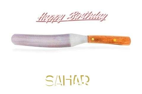 Happy Birthday Cake for Sahar