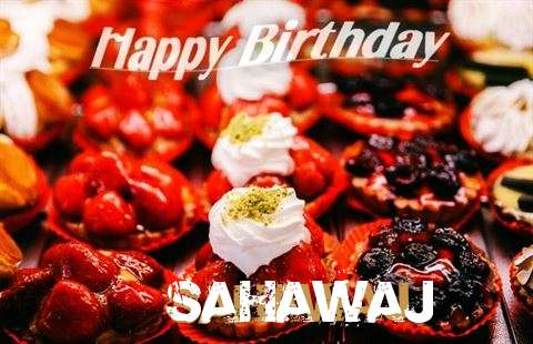 Happy Birthday Cake for Sahawaj