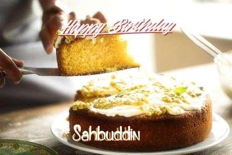 Happy Birthday Cake for Sahbuddin