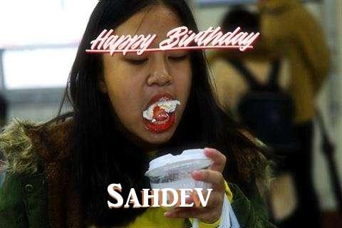 Happy Birthday Cake for Sahdev