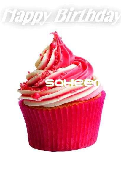 Happy Birthday Cake for Saheen